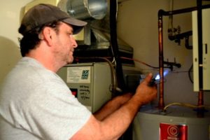 fixing water heater