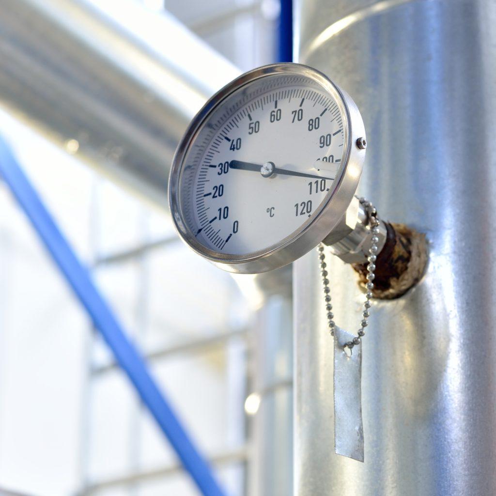 water temperature rise