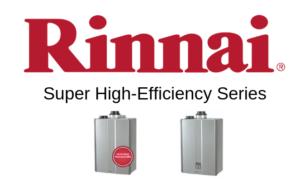 rinnai super high efficiency series