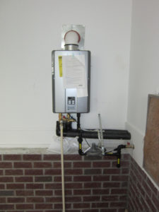 outdoor water heater