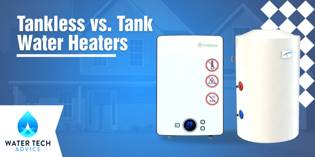 Tankless vs. Tank Water Heaters