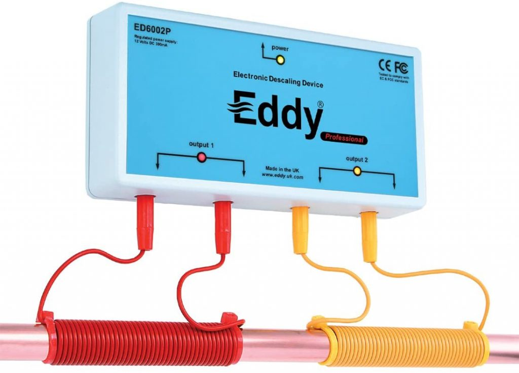 Eddy descaler
