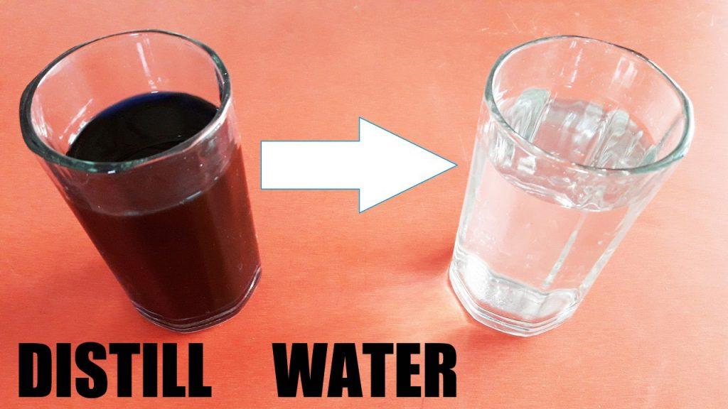 distill water
