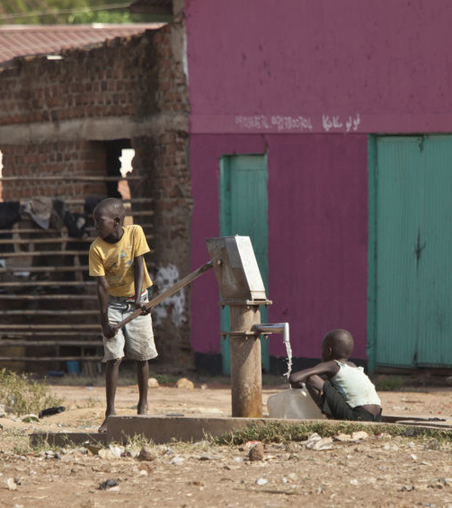 Clean water in South Sudan