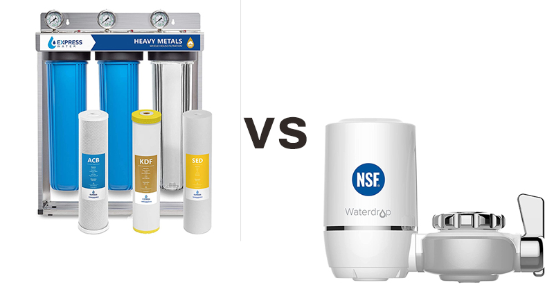 Point of Entry Water Filters Vs. Point Of Use Water Filter