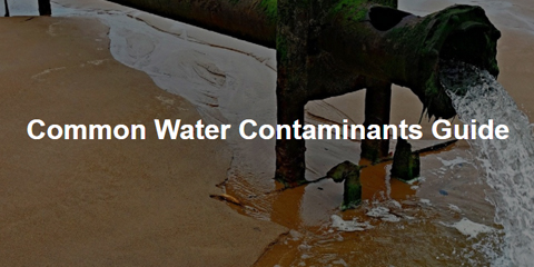 common water contaminants guide