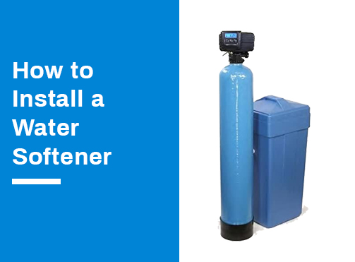 installing-water-softener