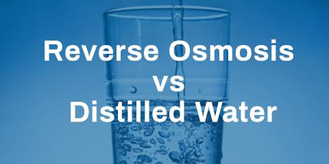 Reverse Osmosis vs Distilled Water