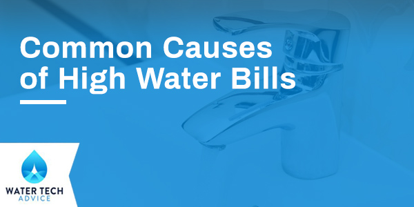 Common Causes of High Water Bills