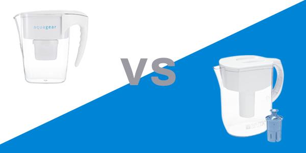Aquagear vs Brita Comparison